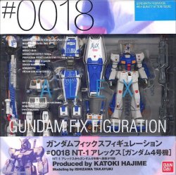Gundam Fix Figuration 0018 RX-78NT-1 Alex (RX-78-4)